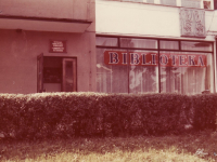 "Biblioteka ,,na Skarpie"", 1985 rok"